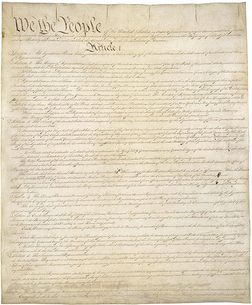 Apa Style Blog How To Cite The Us Constitution In Apa Style Us Constitution Image In The Public Domain Obtained From Httpen