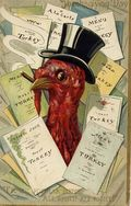 Vintage-thanksgiving-cards-turkey-in-top-hat-with-restaurant-menus1