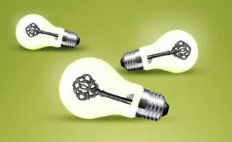 Key lightbulbs