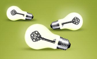 Key lightbulbs