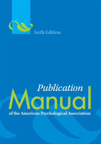 Apa style blog image of the publication manual of the american psychological association sixth edition fandeluxe Gallery