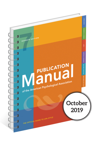Publication Manual of the American Psychological Association (7th ed.)
